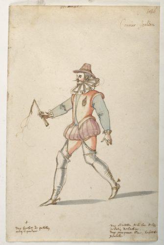 1. Daniel Rabel etudes costumes ballets danses par Louis XIII au Louvre  CHRISTIE S IMAGE-jpg