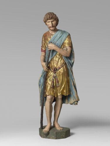 14- Francesco di Giorgio Martini- Saint Christophe- Paris musee du Louvre D- des Sculptures  Musee du Louvre dist RMN- Grand Palais Herve Lewandowski-jpg