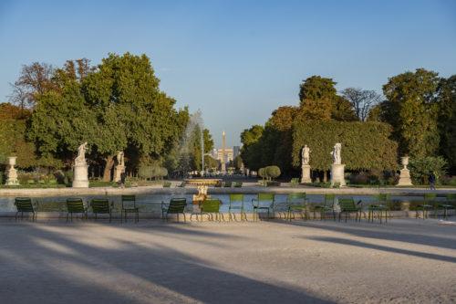 La Grande Allee des Tuileries au soleil couchant  2019 Musee du Louvre Olivier Ouadah-jpg