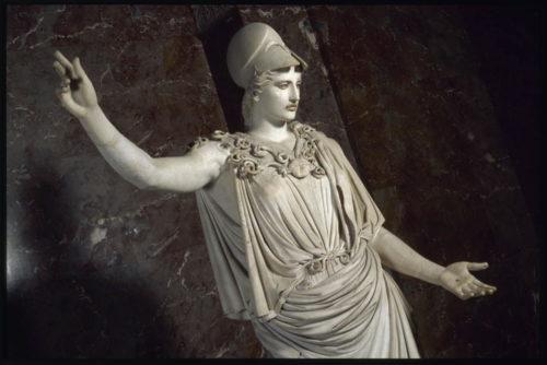 3Athena dite Pallas de VelletriDetail Ier siecle ap JCD Antiquites grecques etrusques et romainemusee du Louvre  2003 Musee du Louvre Etienne Revault-orig-jpg