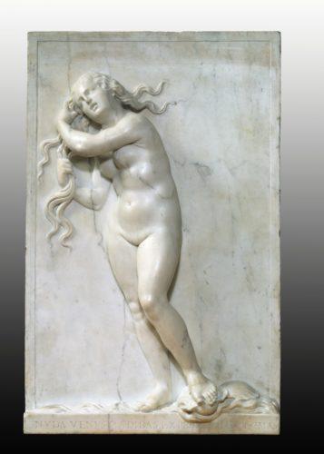 19- Antonio Lombardo Venise  vers 1458  Ferrare 1516 Venus anadyomede- Vers 1508-1516 Victoria and Albert Museum  London VictoriaAlbert Museum-jpg