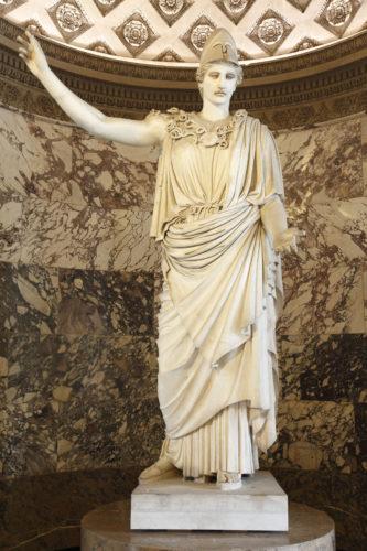 5Athena dite Pallas de Velletriavant restaurationD Antiquites grecques etrusques et romainesmusee du Louvre  2013 Musee du LouvreAntoine Mongodin-jpg
