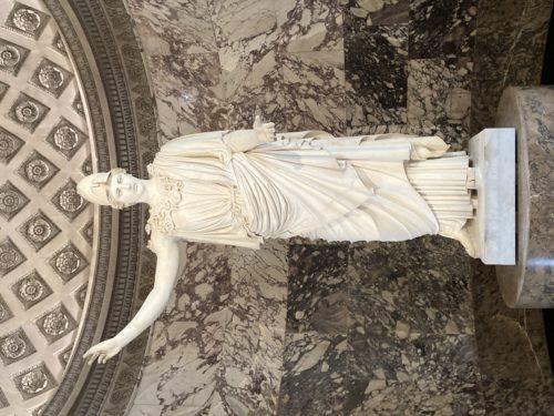 1Athena dite Pallas de Velletri Ier siecle ap JCrestauree 2020D Antiquites grecques etrusques et romainesmusee du Louvre  2013 Musee du LouvreLudovic Laugier-JPG
