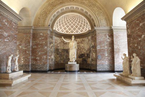 2Athena dite Pallas de Velletr Ier siecle ap JCD Antiquites grecques etrusques et romainesmusee du Louvre  2013 Musee du Louvre Antoine Mongodin-jpg