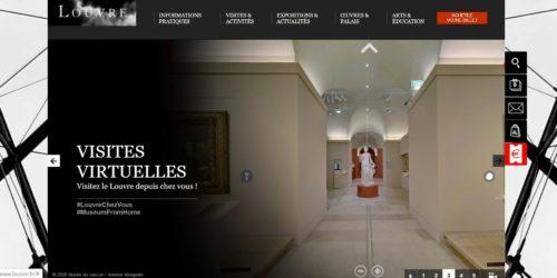 Visite virtuelle sur louvre-fr